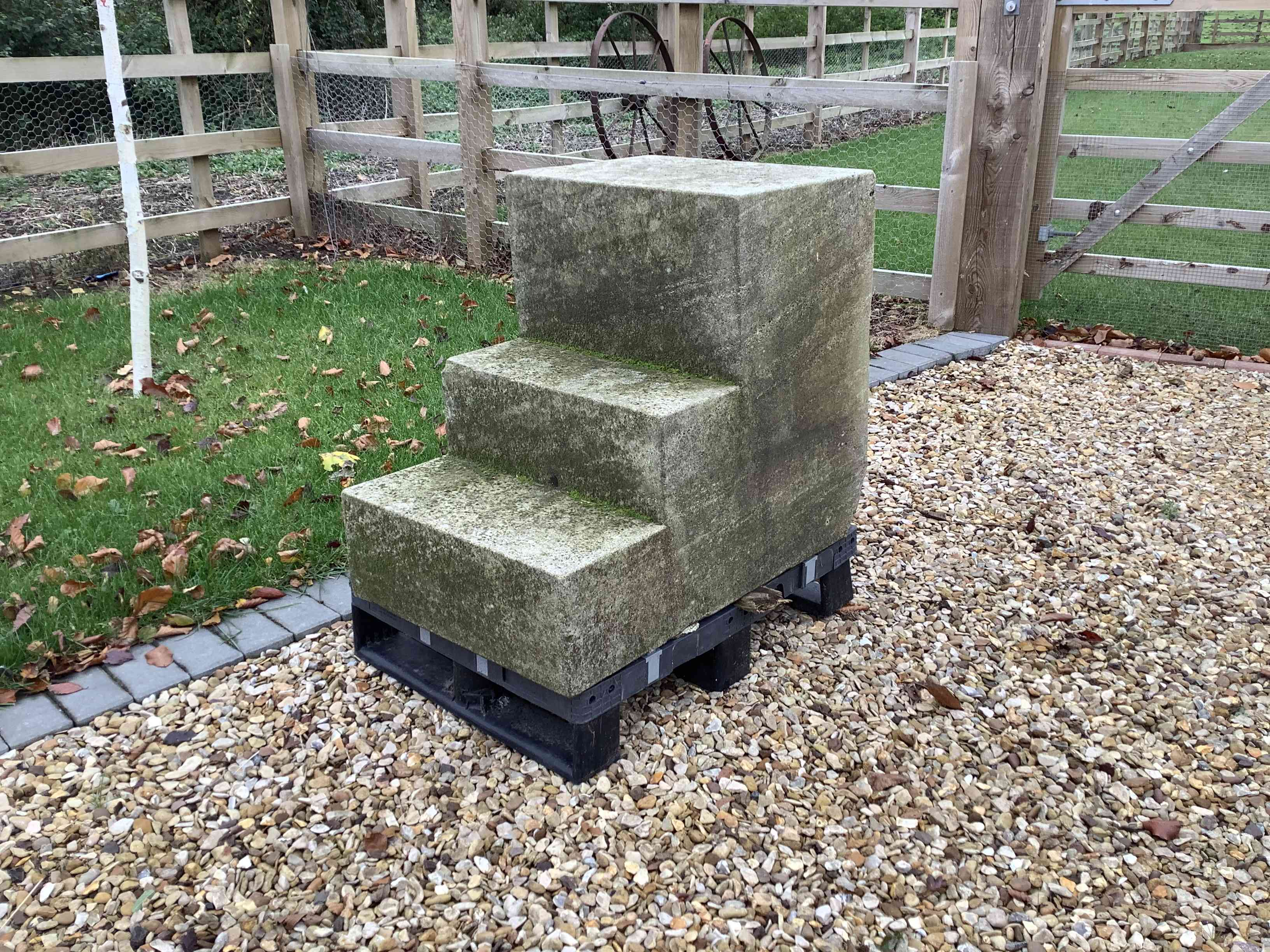Stone Mounting Steps