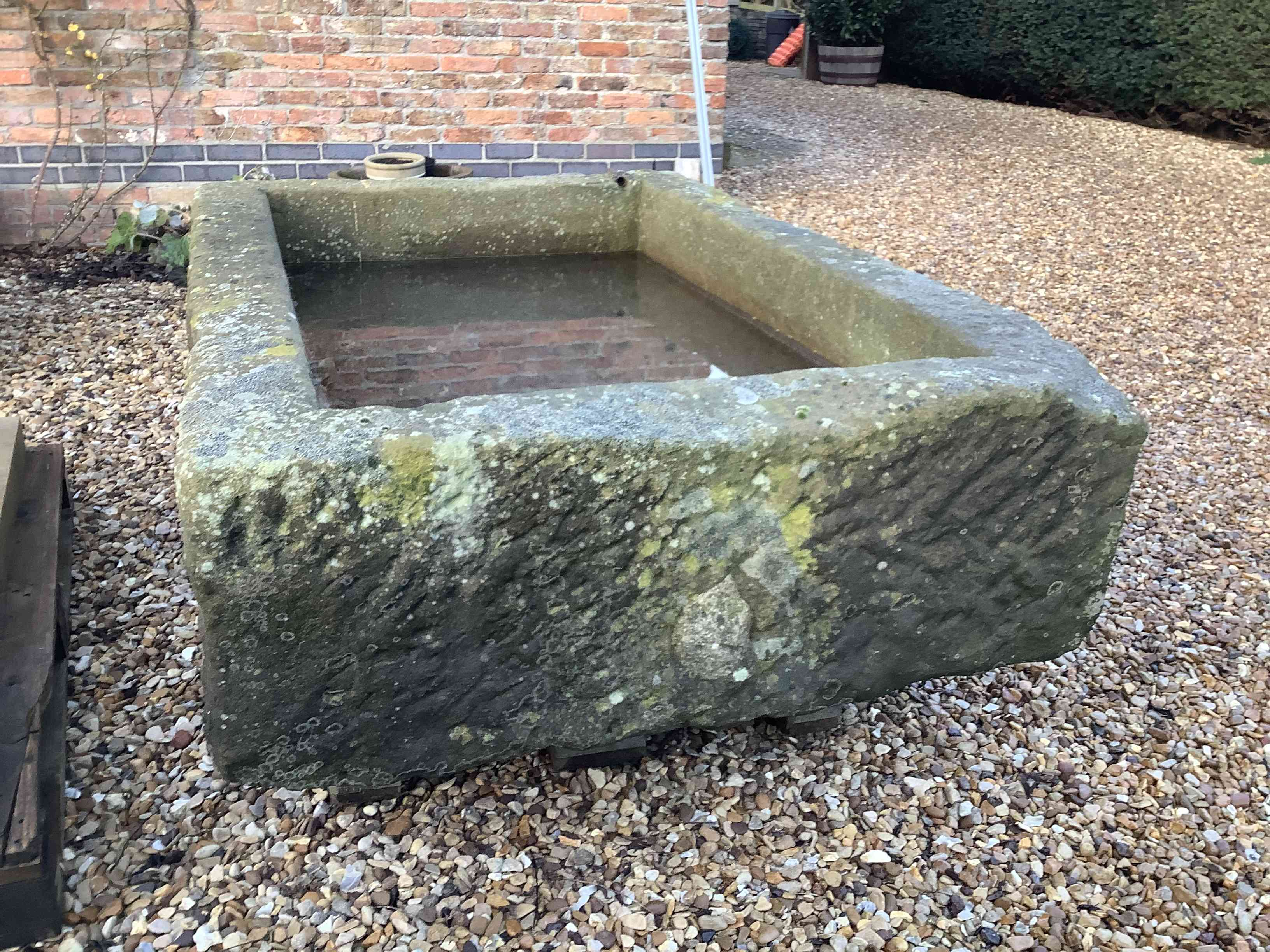 Very Large Stone Trough