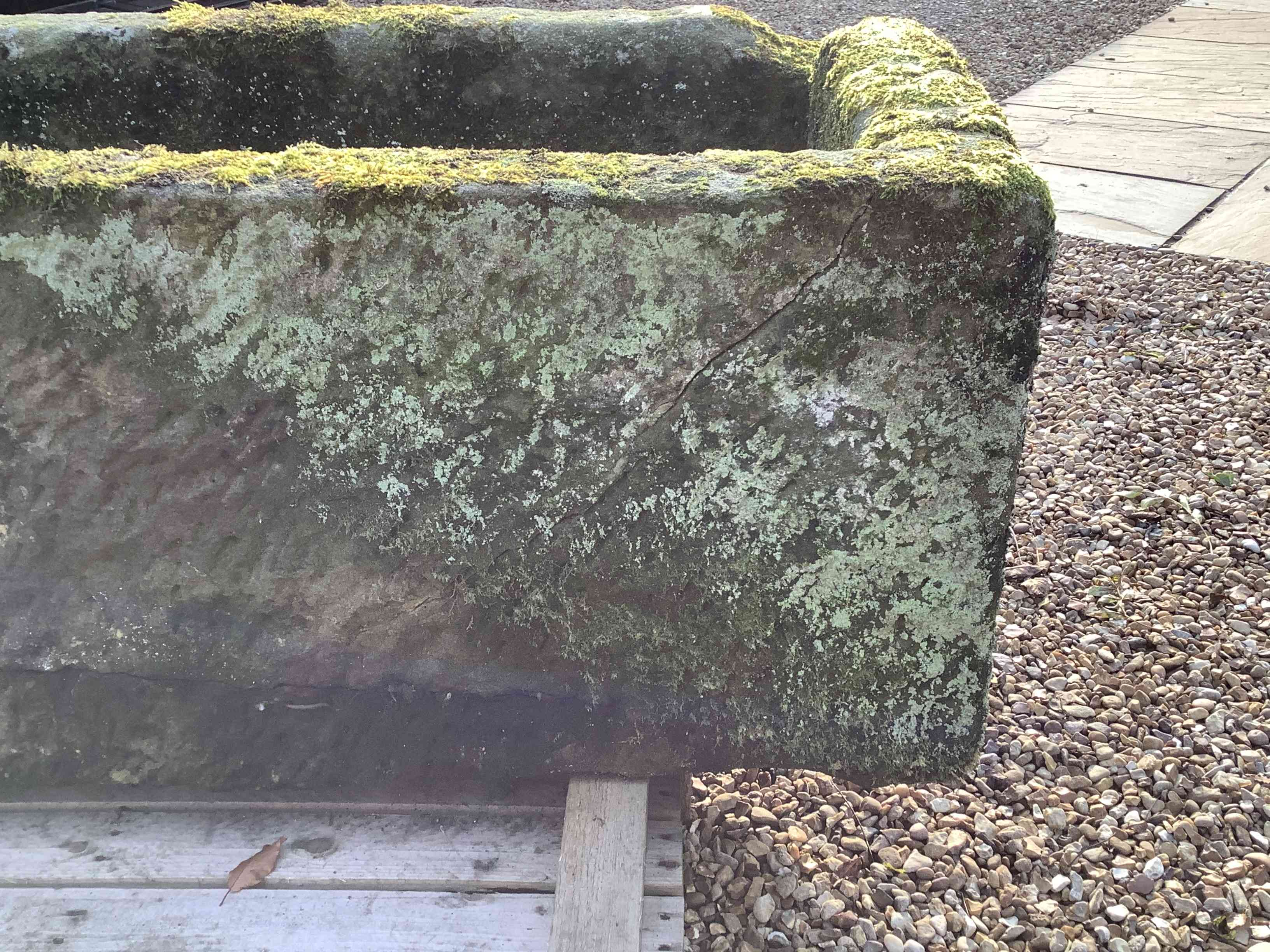 Well Mossed Stone Trough